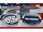 Carl Edwards #99 Driver Number & Name Magnet 2 Pack